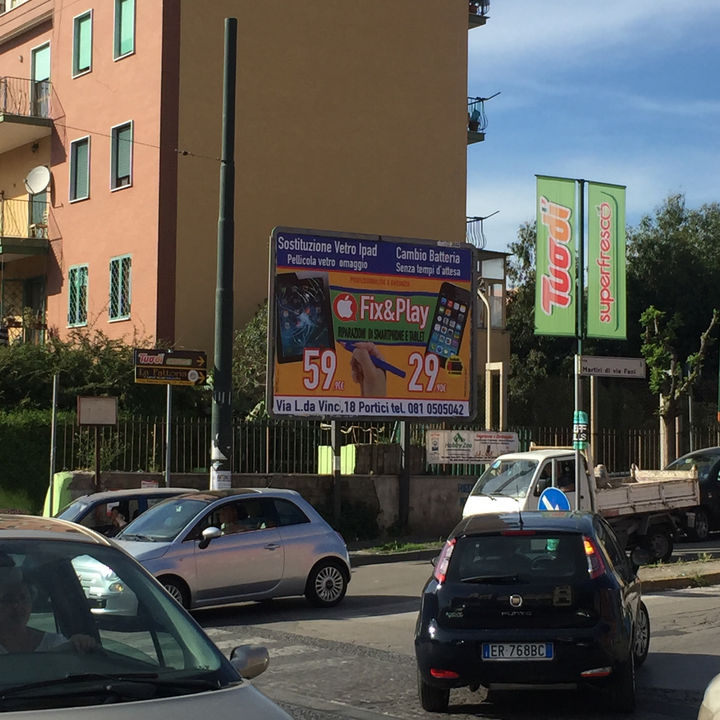 Poster a Portici