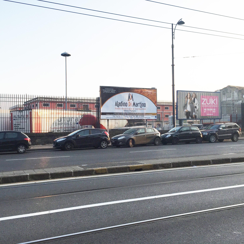 Affissioni di Poster 6x3 Via Marina - Napoli