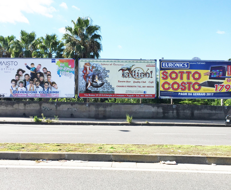 Affissioni di Poster 6 x 3 Napoli